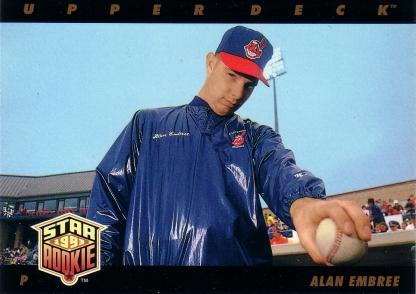 1993 Upper Deck Alan Embree