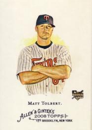2008 Allen & Ginter Matt Tolbert
